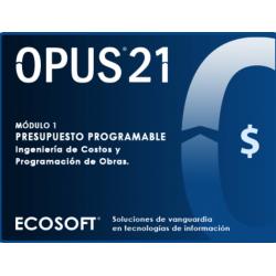 Opus21 Presupuesto Programable