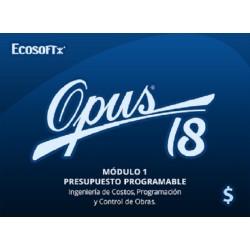 OPUS 2018 - Presupuesto...