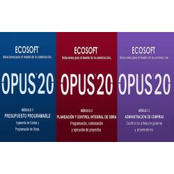OPUS 2020 - Modulos 1, 2 y 3